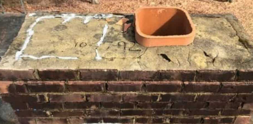 chimney damage   Black Goose Chimney Service