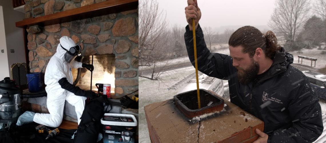 Chimney Sweep Discoveries   Black Goose Chimney Service